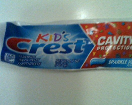 Only one kid gets to brush their teeth!