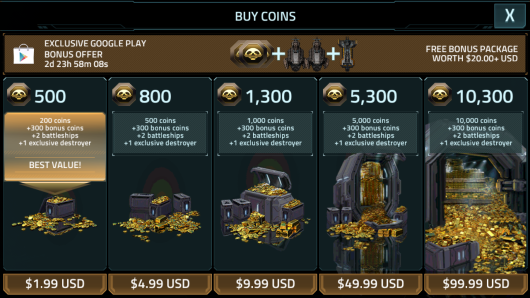Buy Coins